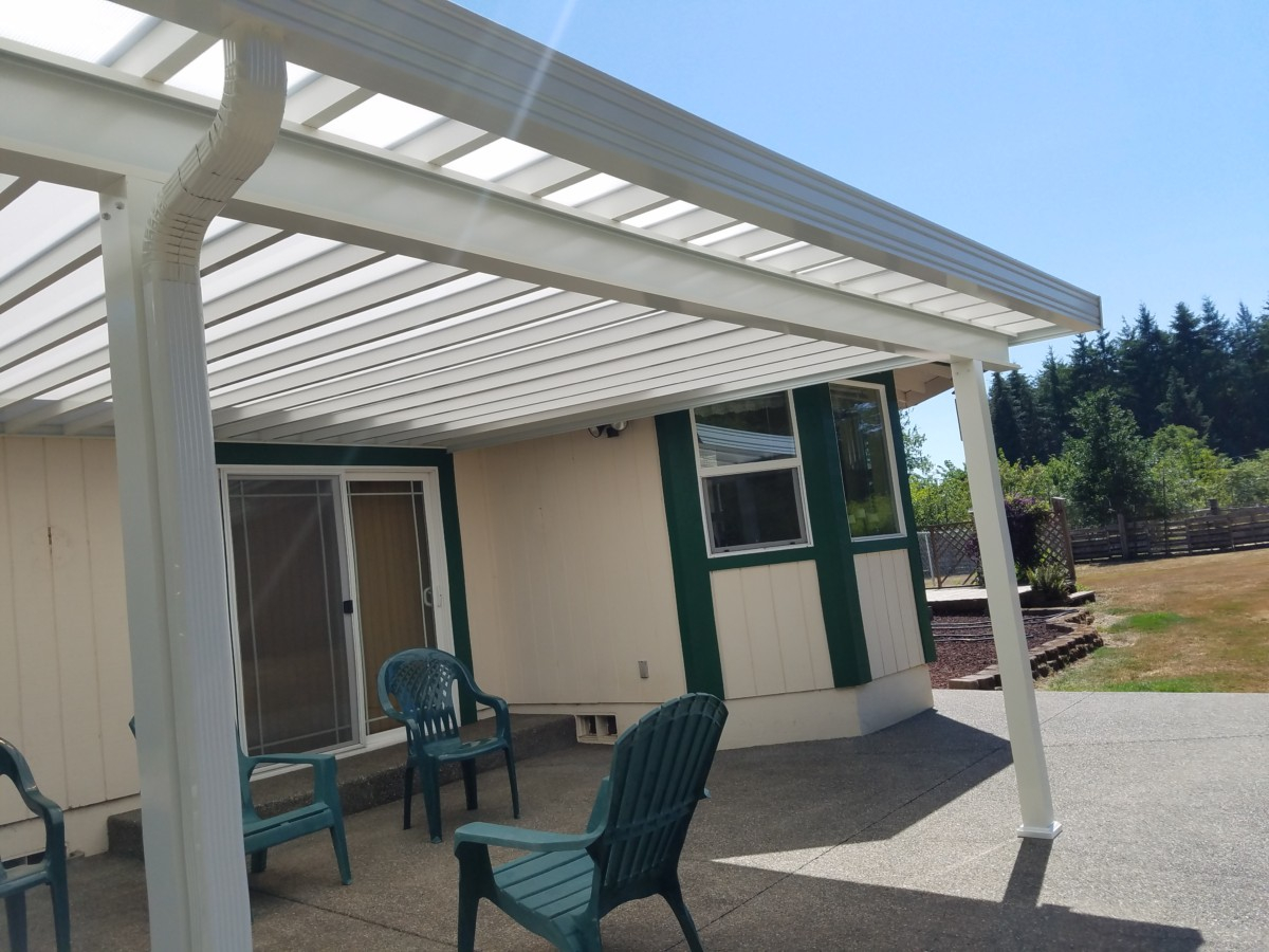 Skylight Patio Cover Installation In Tacoma Puyallup Enumclaw throughout sizing 1200 X 900