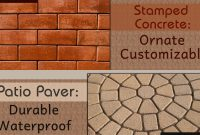 Stamped Concrete Vs Paver Patio Which Is The Better Option intended for size 1200 X 700