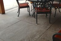 Stamped Textured Concrete Patio Area With Diamond Scoring regarding sizing 1936 X 2592