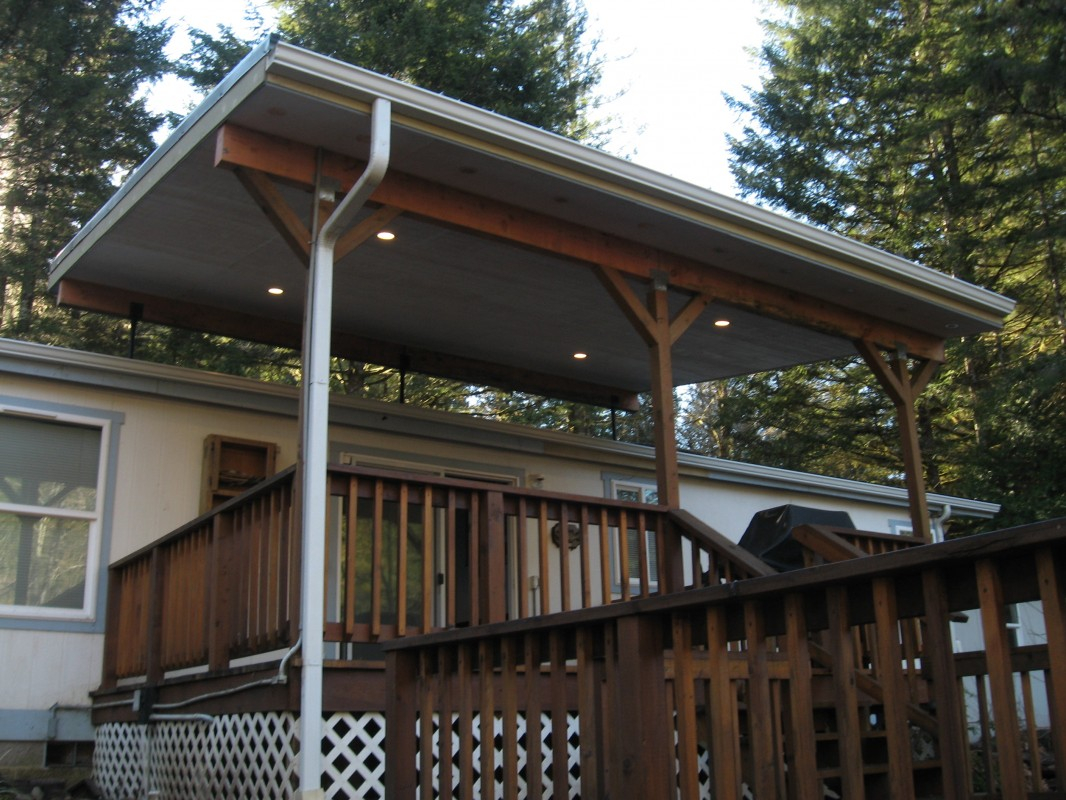 Steel Roof Patio Covers Modern Outdoor Aluminum Backyard in dimensions 1066 X 800