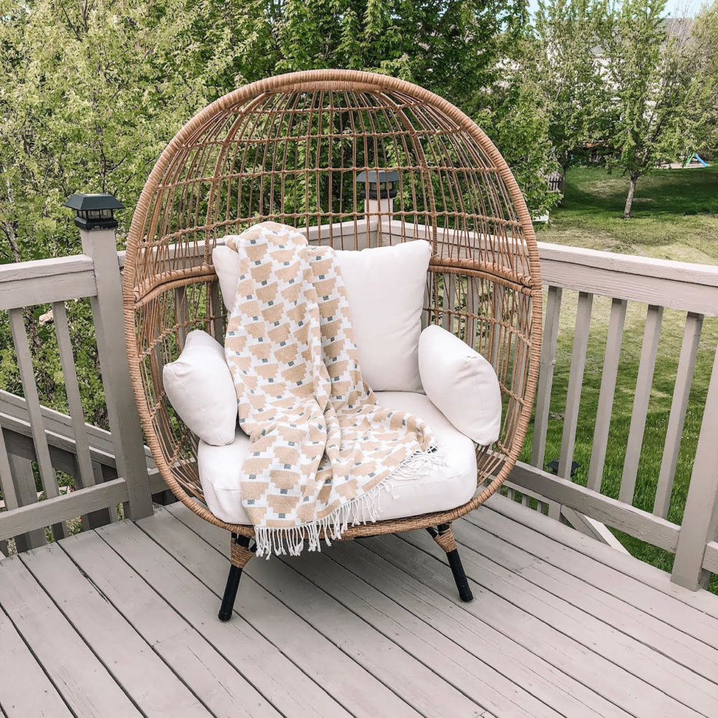 patio egg chair target • fence ideas site