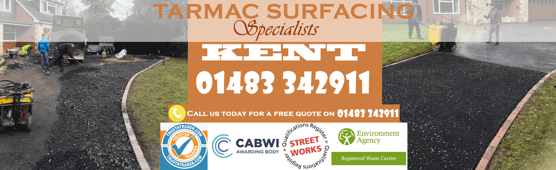 Tarmac Surfacing Contractor Kent And Canterbury intended for sizing 1800 X 552