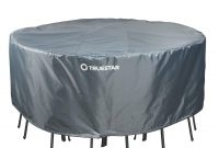 Truestar Round Patio Table Cover Waterproof And Durable 60 X 28 for proportions 1500 X 1500